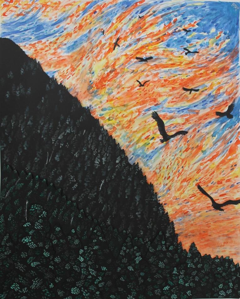 Buzzards of Ross Mountain