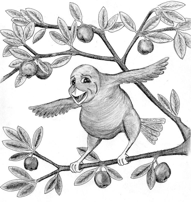 wirdy bird by morgen eljot 1
