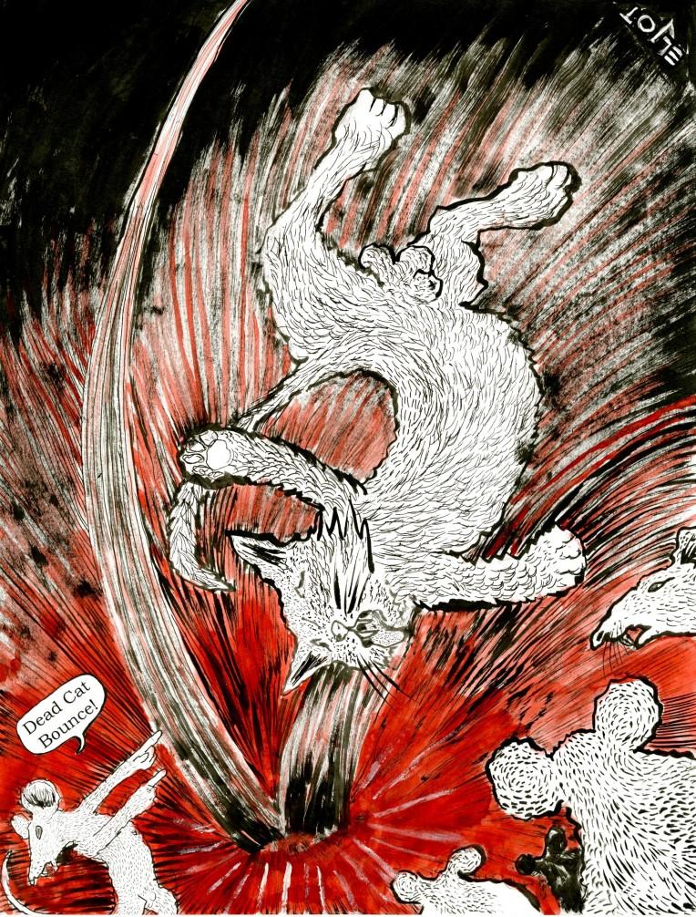 dead cat bounce by eljot