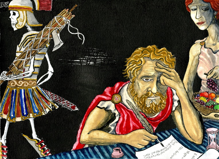 Marcus Aurelius by morgen eljot