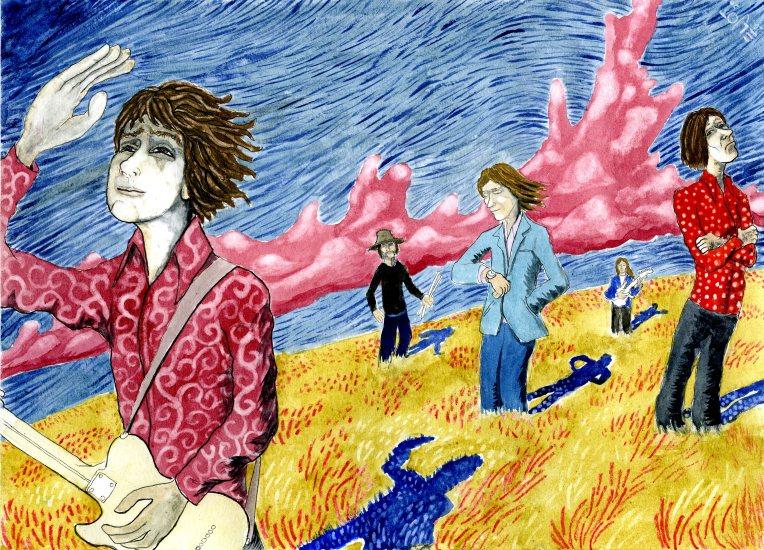 Syd Barrett by morgen eljot